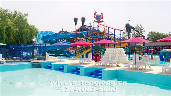 Tianjin Tanggu Happy Water World is located next to Children's Happy Valley in Hebin Park, No.988 Tanggu Center Road, Binhai New District, Tianjin. It covers an area of about 10,000 square meters. It consists of a wave-making pool that can accommodate nearly 1,000 people to play in the water at the same time, and a thrilling circulation It consists of four parts: the river, the interesting big water village, and the swimming pool for leisure and swimming.